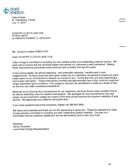 46-TC-notice from Duke Energy